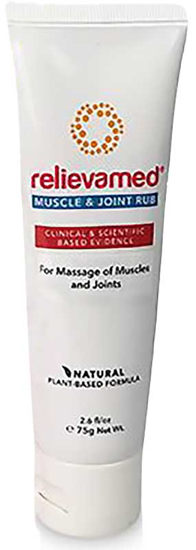 Relievamed Muscle and Joint Cream and Massage Oils